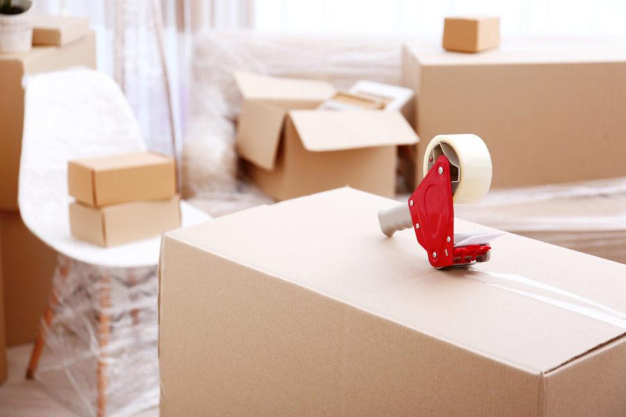 mover supplying materials
